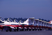 Canadian Forces Snowbirds on Display, Abbotsford International Airshow, BC, British Columbia, Canada
