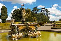 Blenheim Palace  Italian Garden and Fountain - England