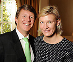 Brady and Alexandra Knight at the 15th Annual Celebration of Families Luncheon benefitting Family Services of Greater Houston at the River Oaks Country Club Tuesday Feb. 02,2010. (Dave Rossman Photo)