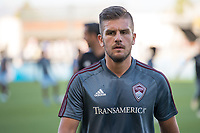 SAN JOSÉ CA - JULY 27: Diego Rubio #7during a Major League Soccer (MLS) match between the San Jose Earthquakes and the Colorado Rapids on July 27, 2019 at Avaya Stadium in San José, California.