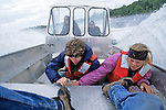 Brian & Gittee, Kris & Jodi On Boat