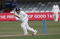Stuart Poynter in batting action for Durham during Essex CCC vs Durham CCC, LV Insurance County Championship Group 1 Cricket at The Cloudfm County Ground on 16th April 2021