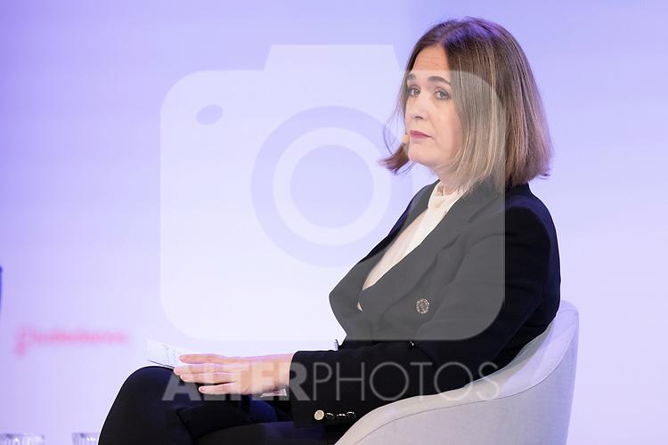 "Counsellor of culture and tourism Marta Rivera during the citizen meeting ""Espana en marcha"". October 24, 2019. (ALTERPHOTOS/Johana Hernandez)"