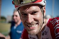 Jempy Drucker (LUX/Cofidis) still smiling post-race<br /> <br /> 17th Benelux Tour 2021<br /> Stage 5 from Riemst to Bilzen (BEL/192km)<br /> <br /> ©kramon