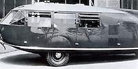 R. Buckminster Fuller: Dymaxion Car No. 3. Chicago World's Fair, 1934.  Photo '77.