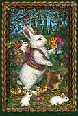 Liz,EASTER, OSTERN, PASCUA, LizDillon, paintings+++++,USHCLD0105,#E#, EVERYDAY ,white rabbit