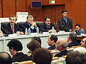 France 2002.Conférence de l' opposition kurde irakienne à Paris..France 2002.Kurdish Iraki Opposition Conference in Paris