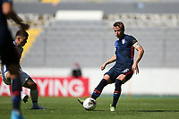 GUADALAJARA, MEXICO - MARCH 18: Jackson Yueill #6 of the United States during a game between Costa Rica and USMNT U-23 at Estadio Jalisco on March 18, 2021 in Guadalajara, Mexico.