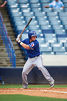 Rich Ciufo (3) of Phillips Academy in Medford, New York playing for the Texas Rangers scout team during the East Coast Pro Showcase on July 28, 2015 at George M. Steinbrenner Field in Tampa, Florida.  (Mike Janes/Four Seam Images)