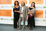 Morboria Company poses for the photographers during 2015 Theater Ceres Awards photocall at Merida, Spain, August 27, 2015. <br /> (ALTERPHOTOS/BorjaB.Hojas)