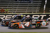 NASCAR Camping World Truck Series<br /> JAG Metals 350<br /> Texas Motor Speedway<br /> Fort Worth, TX USA<br /> Friday 3 November 2017<br /> Christopher Bell, JBL Toyota Tundra and Ben Rhodes, Safelite Auto Glass Toyota Tundra<br /> World Copyright: Russell LaBounty<br /> LAT Images