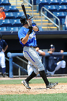 Aberdeen Ironbirds outfielder Anthony Vega (31) during game against the Staten Island Yankees at Richmond County Bank Ballpark at St.George on July 18, 2012 in Staten Island, NY.  Staten Island defeated Aberdeen 3-2.  Tomasso DeRosa/Four Seam Images