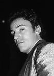 Bruce Springsteen attends the  Third Annual Rock N Roll Hall of Fame Awards on January 20, 1988 at the Waldorf Astoria Hotel in New York City.