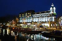 AMSTERDAM-HOLANDA. Park Hotel ubicado en Stadhouderskade Amsterdam. Park Hotel located in Stadhouderskade 25, Amsterdam. Photo: VizzorImage/STR