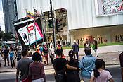 Shoppers seen at the Pavilion, a high end shopping mall in Kuala Lumpur, Malaysia. Photo: Sanjit Das/Panos