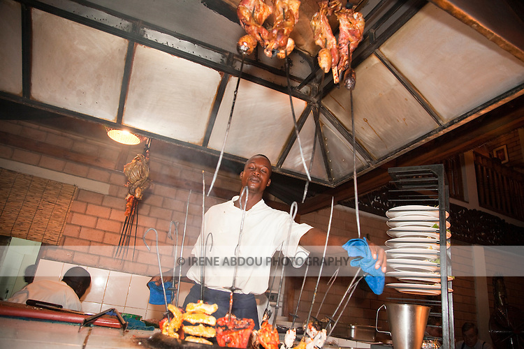Wakkis is a popular Indian restaurant in the Nigerian capital of Abuja.  The wonderful atmosphere and delicious food entices me to the restaurant each time that I visit Nigeria.