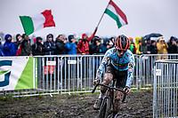 Eli Iserbyt (BEL)<br /> <br /> Men's Elite race<br /> UCI 2020 Cyclocross World Championships<br /> Dübendorf / Switzerland<br /> <br /> ©kramon