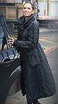 © Joel Goodman - 07973 332324 . 05/03/2017 . London , UK . GINA MILLER leaves ITV studios on South Bank after appearing on the Peston on Sunday show . Photo credit : Joel Goodman