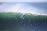 Surfing Steamer Lane in Santa Cruz, CA