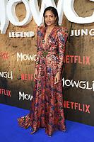 "Naomie Harris<br /> arriving for the""Mowgli: Legend of the Jungle"" premiere at the Curzon Mayfair, London<br /> <br /> ©Ash Knotek  D3464  04/12/2018"