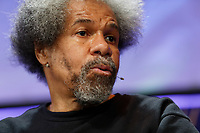 Pictured: Albert Woodfox who spent 40 years in a US prison. Friday 31 May 2019<br /> Re: Hay Festival, Hay on Wye, Wales, UK.