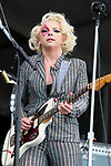 May 2, 2019 New Orleans, La. Singer/Musician Samantha Fish performs on the Acura Stage during the 50th anniversary of the New Orleans Jazz & Heritage Festival on May 2, 2019 in New Orleans, La.