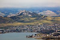 aerial photograph of Los Osos, Morro Bay, San Luis Obispo County, California