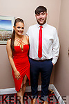 Paul O'Connor and Aimee Maher taking part in the Ballymac Strictly Love dancing in the Ballygarry House Hotel on Saturday.