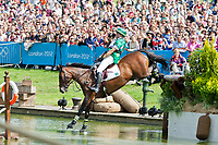 BRA-Jorge Marcio Carvalho (JOSEPHINE) 2012 LONDON OLYMPICS (Monday 30 July 2012) EVENTING CROSS COUNTRY: INTERIM-23RD