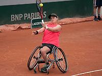 Paris, France, 2 june 2021, Tennis, French Open, Roland Garros, Womans wheelchair singles, First round : Aniek van Koot (NED)<br /> Photo: tennisimages.com