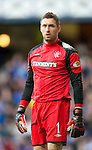 Rangers v St Johnstone....27.02.11 .Allan McGregor.Picture by Graeme Hart..Copyright Perthshire Picture Agency.Tel: 01738 623350  Mobile: 07990 594431