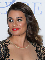 BEVERLY HILLS, CA, USA - APRIL 25: Actress Lea Michele arrives at the Jonsson Cancer Center Foundation's 19th Annual 'Taste For A Cure' held at Regent Beverly Wilshire Hotel on April 25, 2014 in Beverly Hills, California, United States. (Photo by Xavier Collin/Celebrity Monitor)