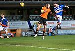 Dundee United v St Johnstone…12.01.21   Tannadice     SPFL<br />Chris Kane scores saints second goal<br />Picture by Graeme Hart.<br />Copyright Perthshire Picture Agency<br />Tel: 01738 623350  Mobile: 07990 594431