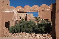 The Entrance to Ait Ben Haddou, Morocco