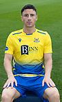 St Johnstone FC 2020-21 Season.<br />Michael O'Halloran<br />Picture by Graeme Hart.<br />Copyright Perthshire Picture Agency<br />Tel: 01738 623350  Mobile: 07990 594431