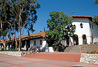 CA. Missions: Mission San Luis Obispo de  Tolosa. 1792-1820.  Photo '86.