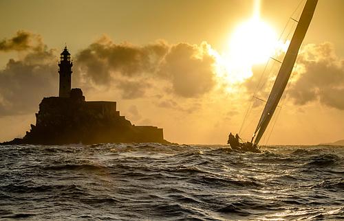 The legendary Fastnet Rock is the lure of Rolex Fastnet Race for all competitors Photo: Kurt Arrigo/ROLEX