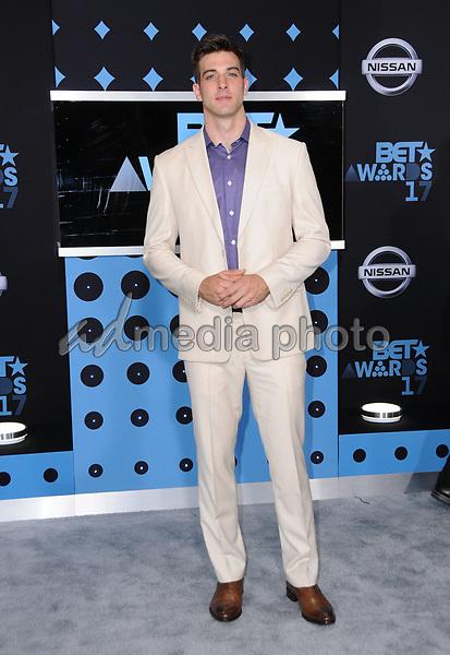 25 June 2017 - Los Angeles, California - Jake Allyn. 2017 BET Awards held at the Microsoft Square in Los Angeles. Photo Credit: Birdie Thompson/AdMedia