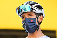 5th September 2020, Grand Colombier, France;  BERNAL GOMEZ Egan Arley (COL) of TEAM INEOS during stage 8 of the 107th edition of the 2020 Tour de France cycling race, a stage of 140 kms with start in Cazeres-sur-Garonne and finish in Loudenvielle