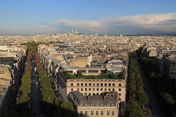 View from the Arc de Triomphe, Paris, France. .  John offers private photo tours in Denver, Boulder and throughout Colorado, USA.  Year-round. .  John offers private photo tours in Denver, Boulder and throughout Colorado. Year-round.