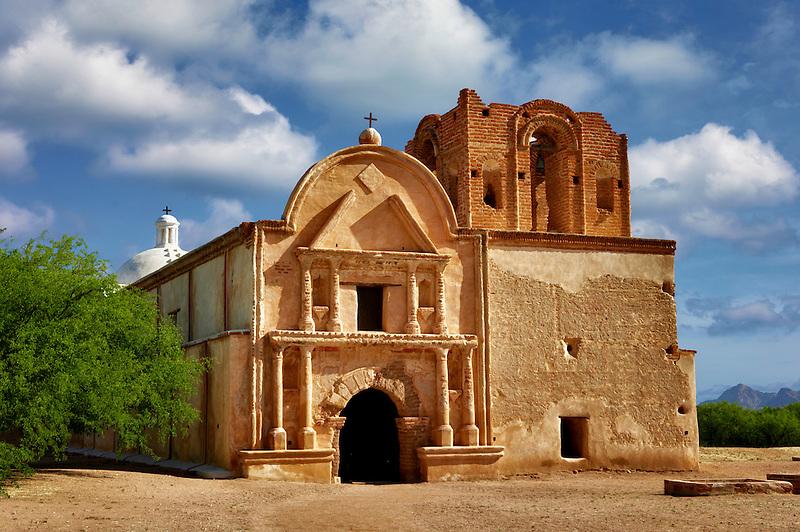 Chapel and church. Tumacacori National historical Park. Arizona
