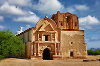Chapel and church. Tumacacori National historical Park. Arizona