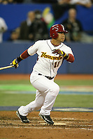 March 8, 2009:  Gregor Blanco (11) of Venezuela during the first round of the World Baseball Classic at the Rogers Centre in Toronto, Ontario, Canada.  Venezuela lost to Team USA 15-6 in both teams second game of the tournament.  Photo by:  Mike Janes/Four Seam Images