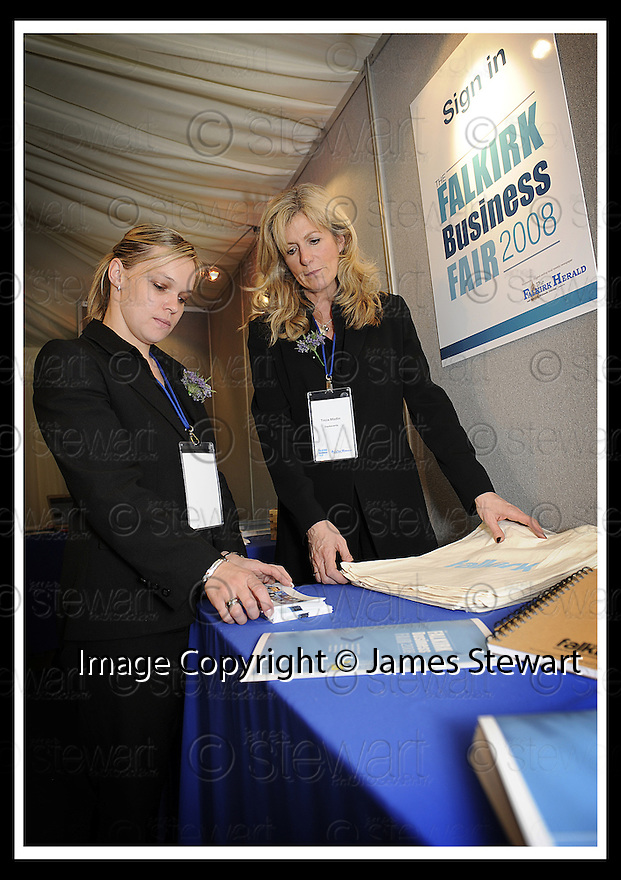 01/05/2008   Copyright Pic: James Stewart.File Name : 38_business_fair.FALKIRK BUSINESS FAIR 2008.James Stewart Photo Agency 19 Carronlea Drive, Falkirk. FK2 8DN      Vat Reg No. 607 6932 25.Studio      : +44 (0)1324 611191 .Mobile      : +44 (0)7721 416997.E-mail  :  jim@jspa.co.uk.If you require further information then contact Jim Stewart on any of the numbers above........