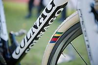 Superprestige Zonhoven 2013<br /> <br /> Sven Nys' (BEL) customised world champ tires