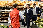 Carrefour - Visite d'Alexandre Bompard à Marseille