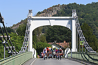 5th September 2020, Grand Colombier, France;  Illustration picture showing the escape pack during stage 8 of the 107th edition of the 2020 Tour de France cycling race, a stage of 140 kms with start in Cazeres-sur-Garonne and finish in Loudenvielle