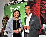 FRANCESCA SCOPELITTI E SANDRO GOZI<br /> FESTA DEGLI 85 ANNI DI MARCO PANNELLA<br /> SEDE PARTITO RADICALE  ROMA 2015