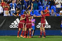 Spain's Jennifer Hermoso during the match of  European Women's Championship 2017 at Leganes, between Spain and Finland. September 20, 2016. (ALTERPHOTOS/Rodrigo Jimenez) NORTEPHOTO