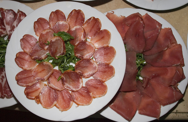Appetizers, Pan Casa Bleve Restaurant, Rome, Italy